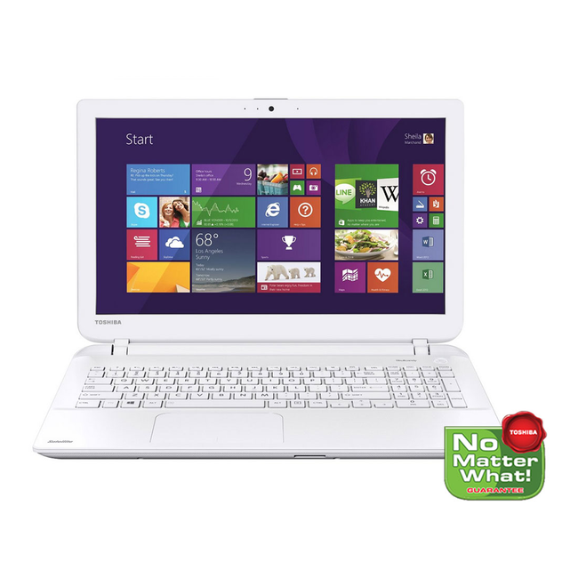 Laptop TOSHIBA Satellite L50-B-11K white